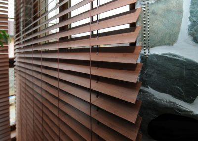 Dřevěné žaluzie